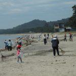 奈多海岸美化作戦