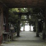 八幡奈多宮の山門