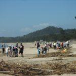 奈多海岸大清掃
