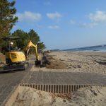 奈多狩宿海岸再生作業